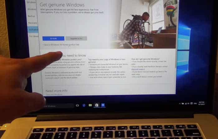 How to Install Windows 10 on your Mac computer with Boot