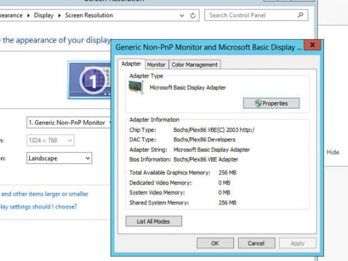 How To Change Windows 10 Microsoft Basic Display Adapter To Current Graphics Adapter
