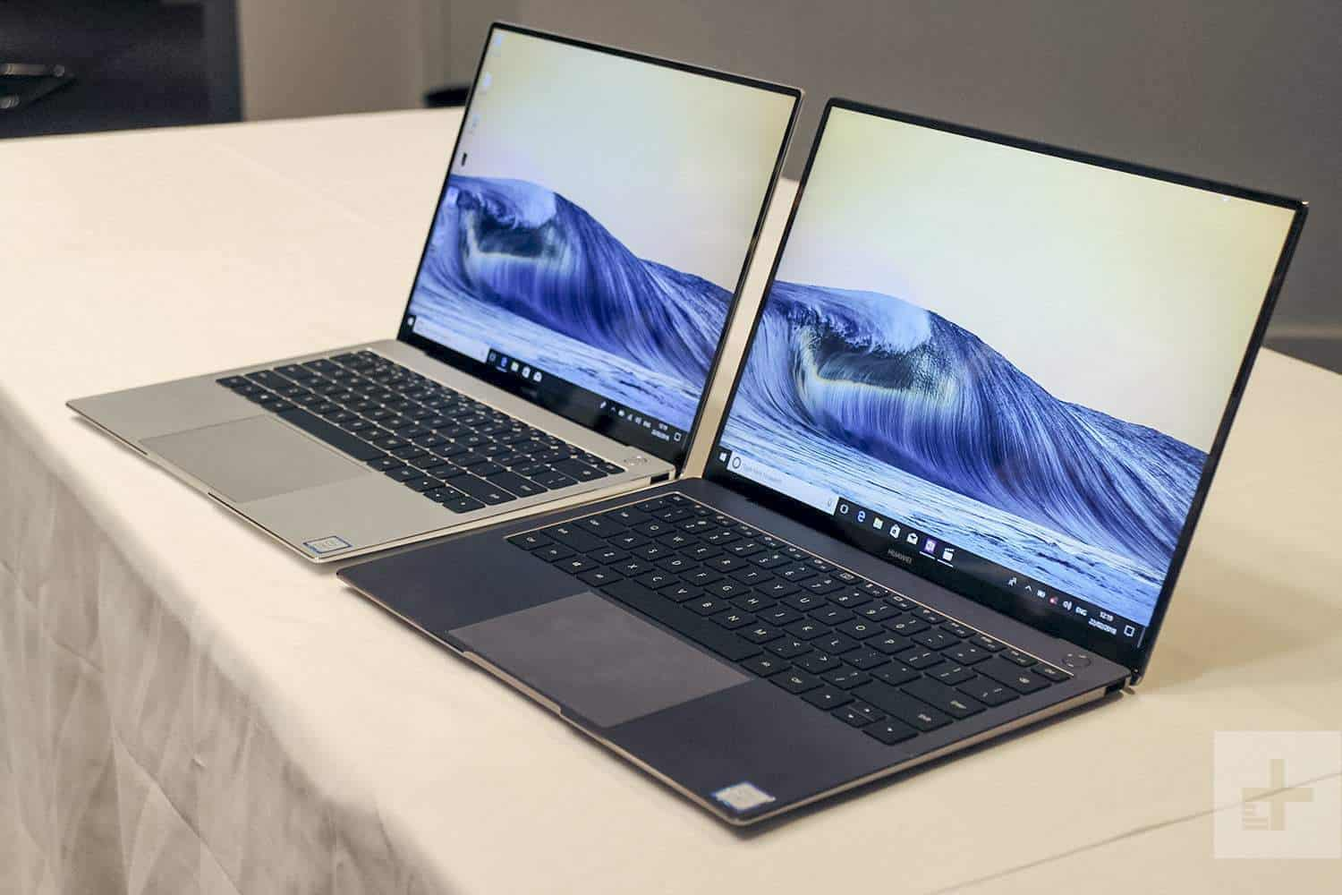 Huawei MateBook X Pro vs Apple MacBook Pro Best Premium Laptop 2019