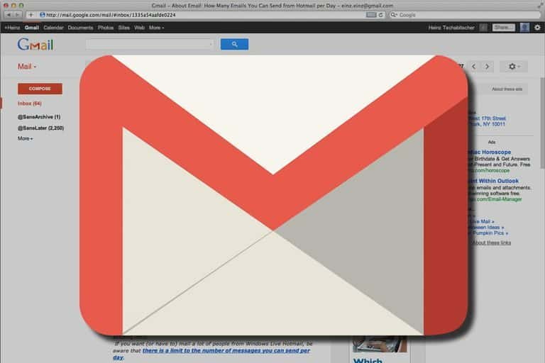 Delete all Gmail Email