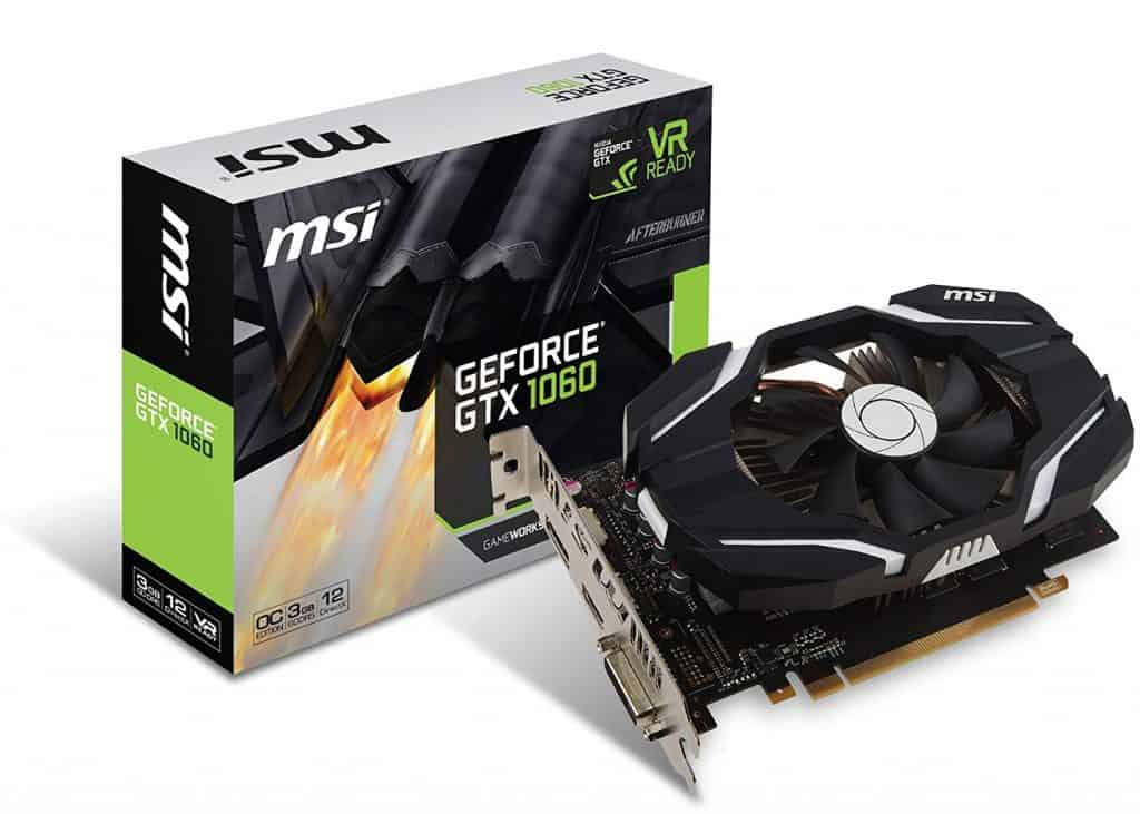 MSI GAMING GeForce GTX 1060 3GB GDRR5