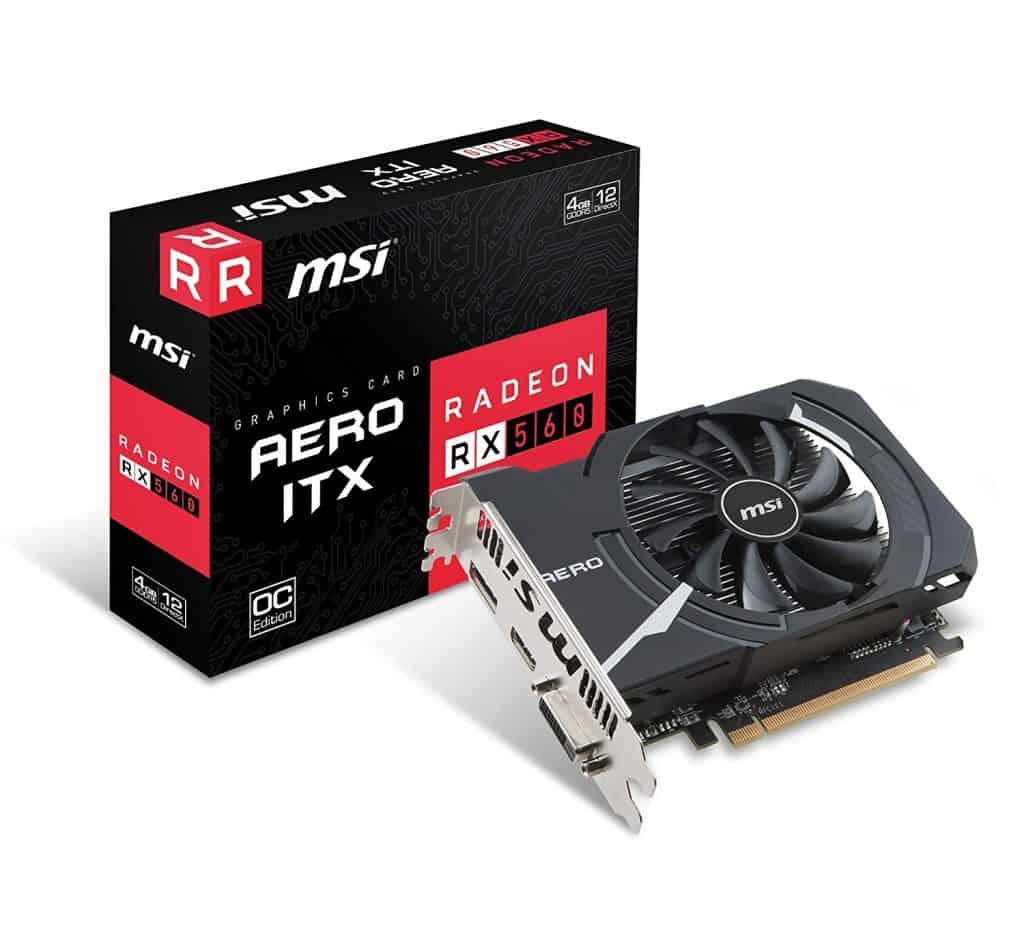 MSI Gaming Radeon RX 560 128-bit 4GB GDDR5