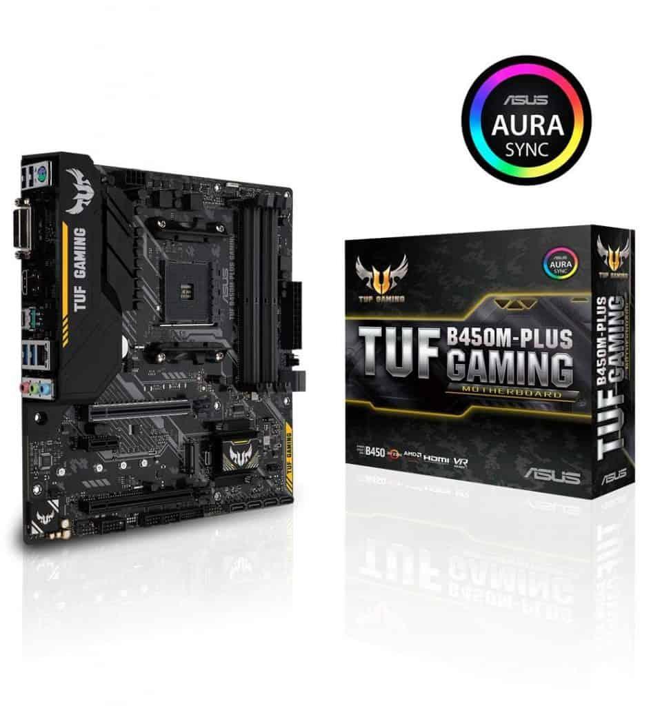 ASUS TUF B450 Gaming Motherboard AMD Ryzen 2