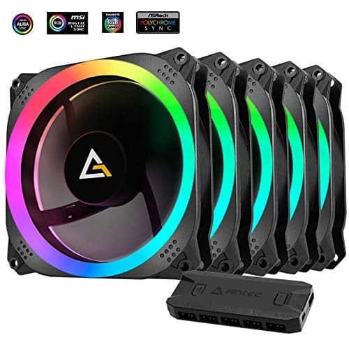 Antec Prizm 120 ARGB 5+C 120mm Case Fan