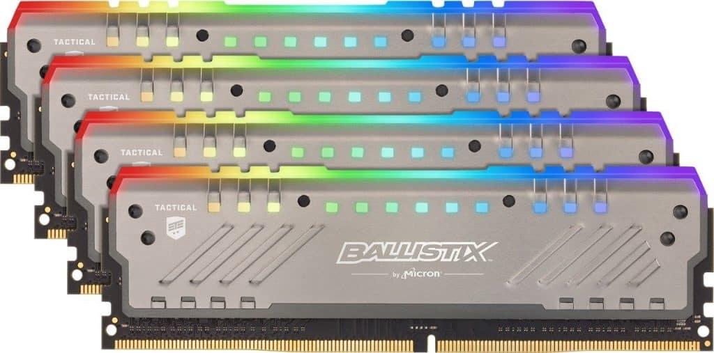 Crucial Ballistix Tactical Tracer RGB 2666 MHz DDR4