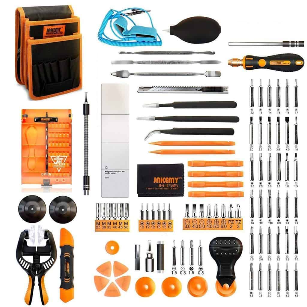 Jakemy Screwdriver Set, 99 in 1 with 50