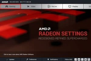 AMD Radeon Settings Won't Open