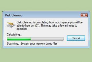 System Error Memory Dump Files