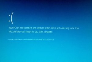 Unexpected Store Exception Error In Windows 10
