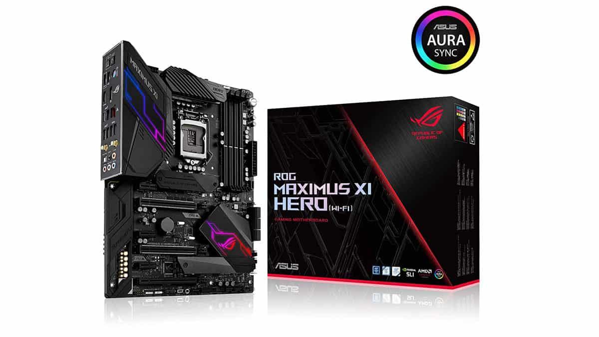 Asus Rog Maximus Xi Hero Gaming Motherboard