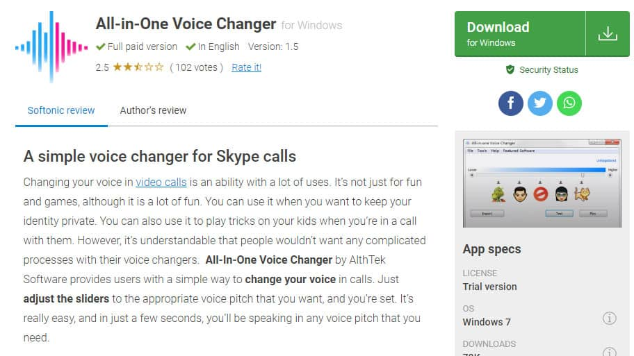 All-in-One Voice Changer