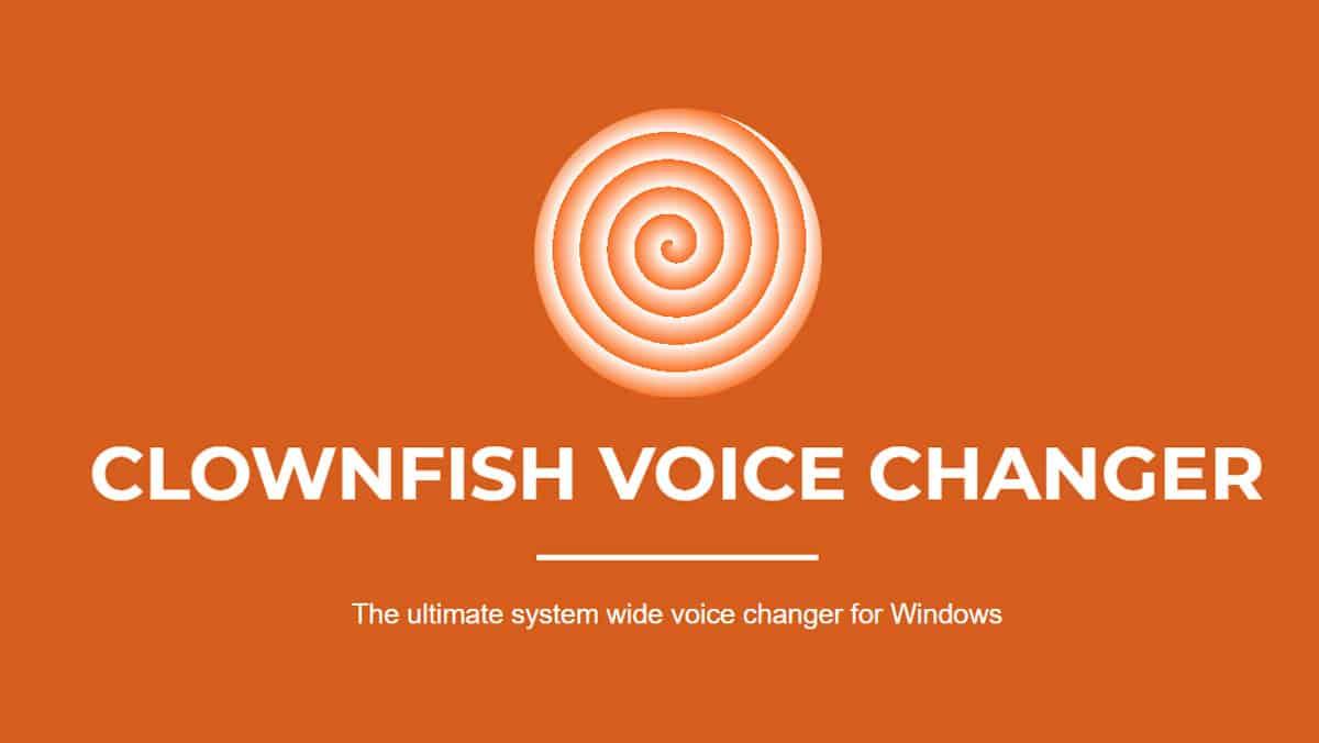 Clownfish-Voice-Changer