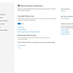 How To Enable Ransomware Protection In Windows Security