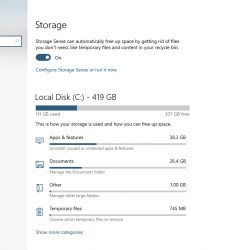 How To Free Up Disk Space With Storage Sense