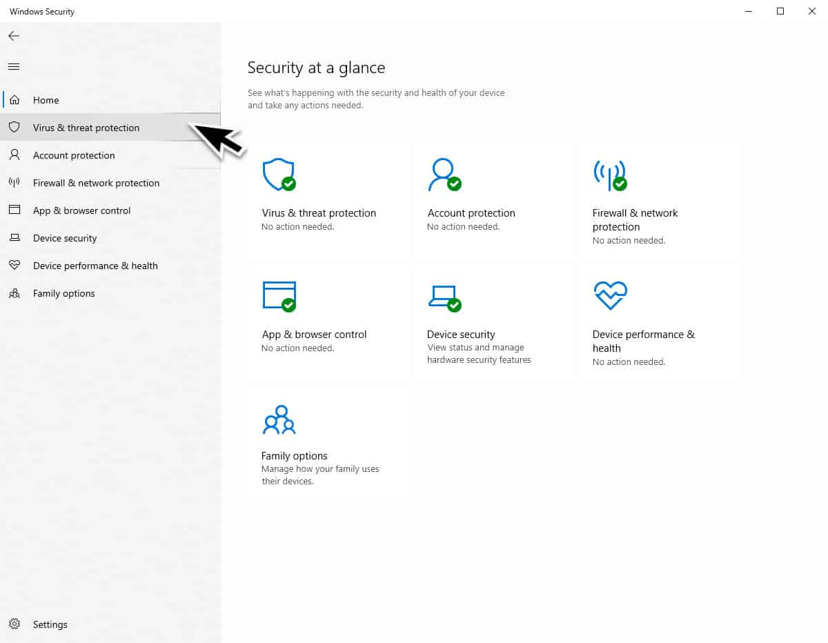 Turn On Ransomware Protection in Windows Security