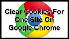 How To Clear Cookies For One Site On Google Chrome