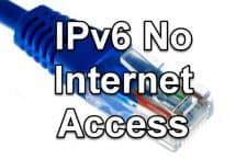 How To Fix The IPv6 No Internet Access Problem In Windows 10