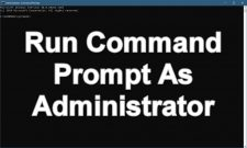 How To Run Command Prompt As Administrator