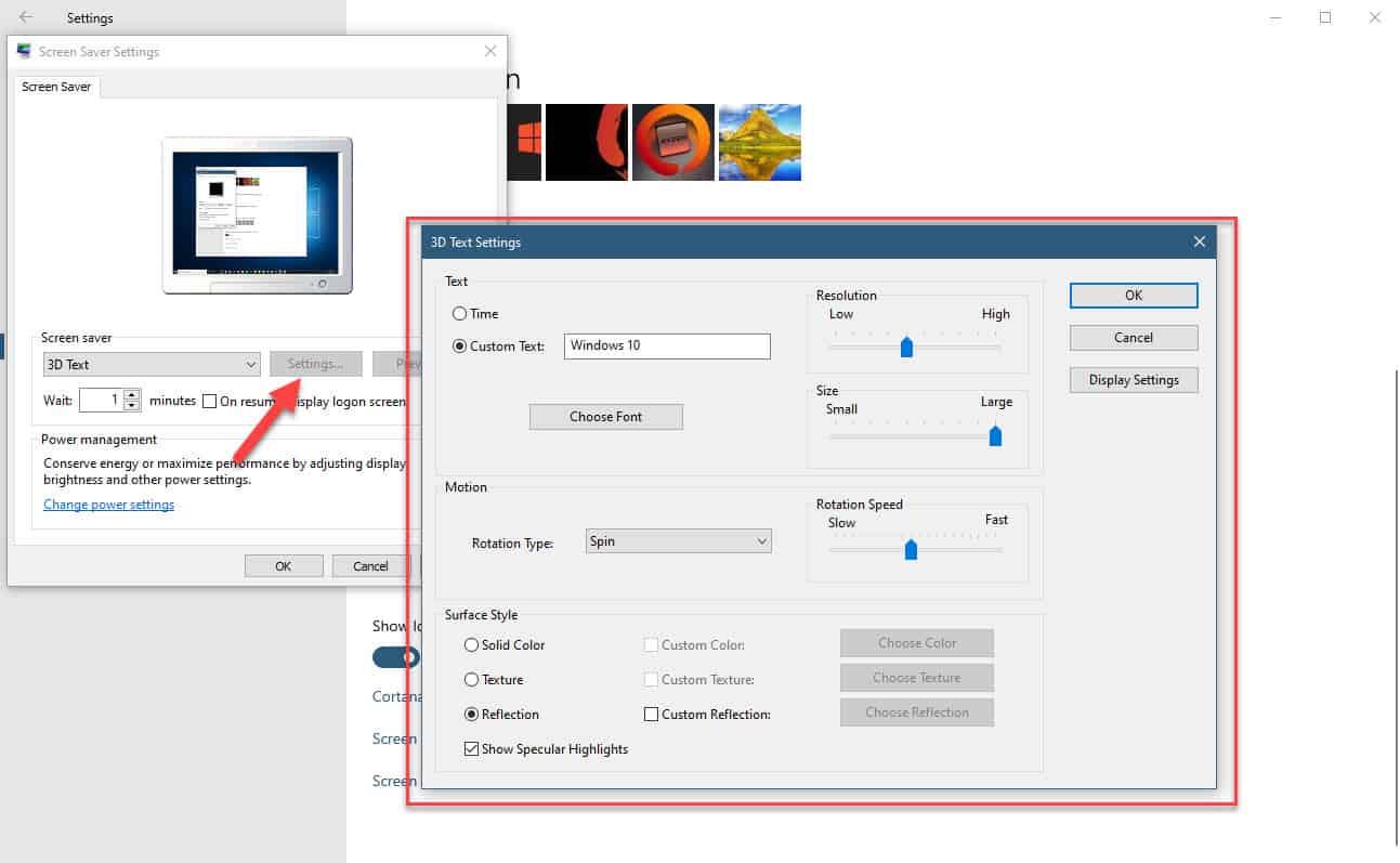 Windows 10 Screensaver won't start