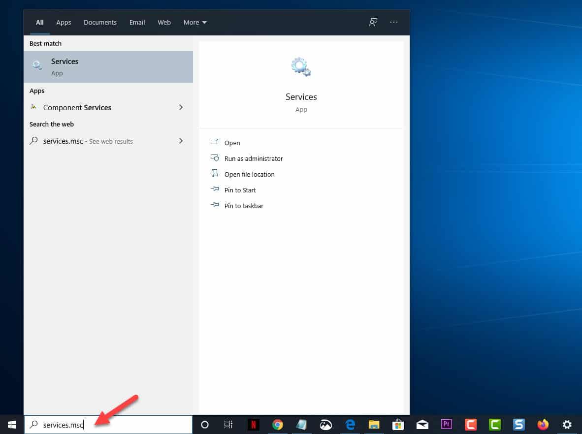 Turn off Superfetch in Windows 10