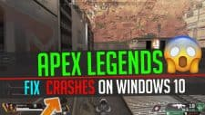 Apex Legends Crashing
