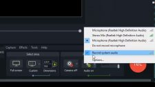 Camtasia Does Not Record Audio