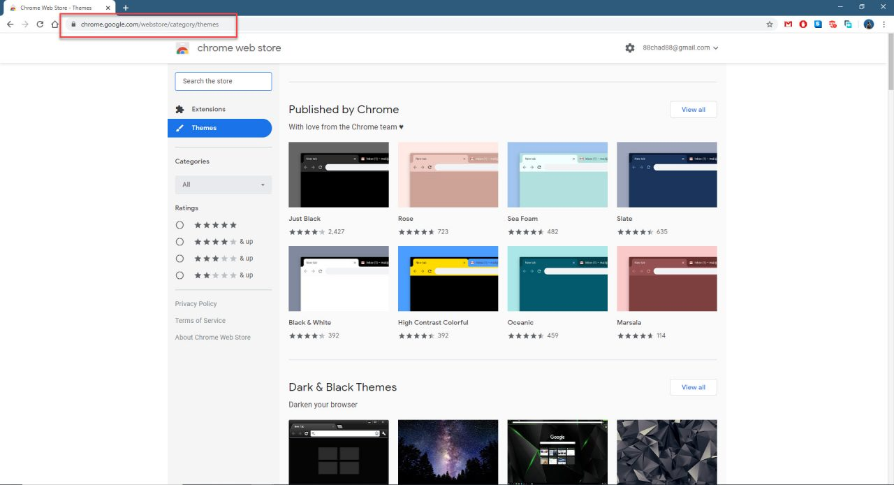 Install Themes In Google Chrome