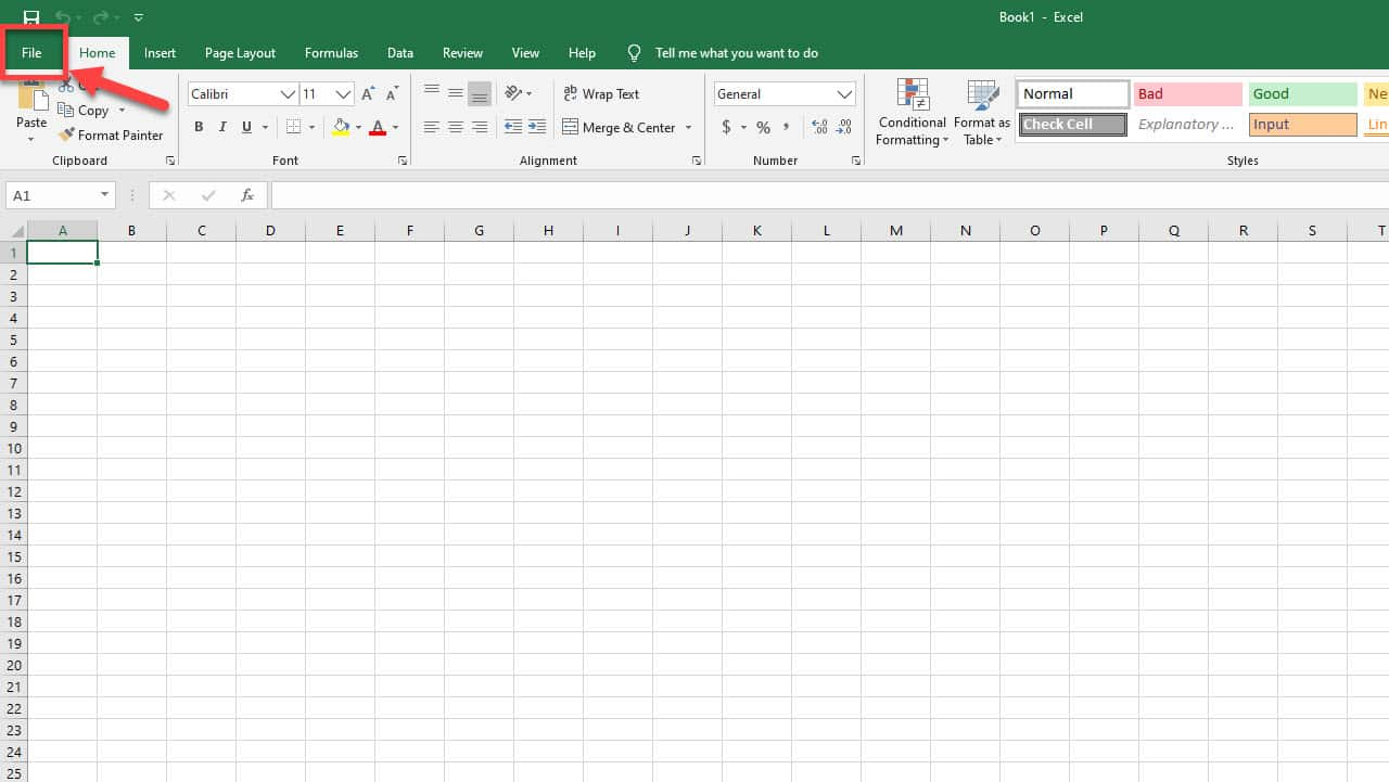 Recover Unsaved Excel Document