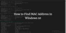 Find Mac Address In Windows 10
