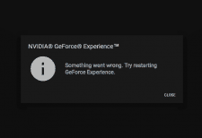 GeForce Experience Not Opening