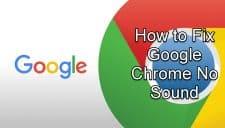 Google Chrome No Sound