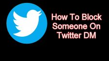 Block Someone On Twitter DM
