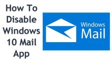 Disable the Mail app