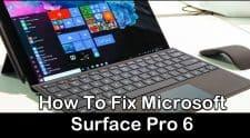 Microsoft Surface Pro 6 battery Drain