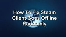 Steam Client Goes Offline Randomly