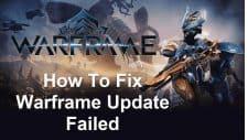 Warframe Update Failed