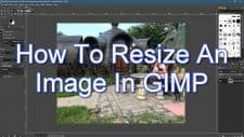 How To Resize An Image In GIMP