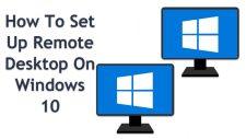 Set Up Remote Desktop