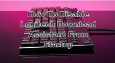 Disable Logitech Download Assistant