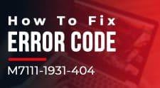Netflix Error M7111-1931-404