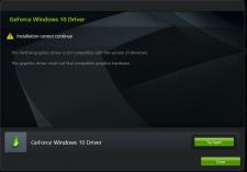 Nvidia Graphics Driver Not Compatible
