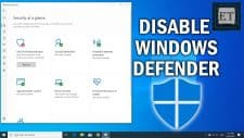 Permanently Disable Windows Defender