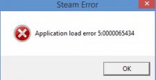 Steam Load Error 5 0000065434