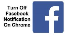 Turn Off Facebook Notification
