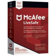 Uninstall McAfee Livesafe