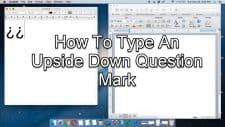 Upside Down Question Mark