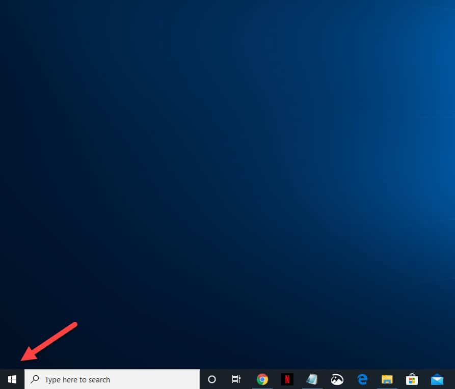 Windows 10 Taskbar Frozen