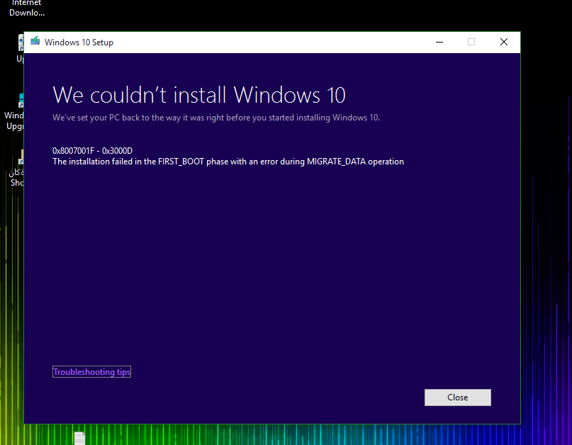 Windows 10 Won't Update Issue