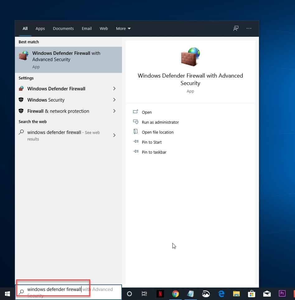 Block Windows 10 Programs From Accessing The Internet