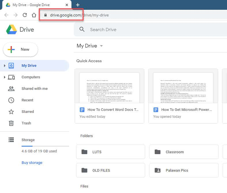 Convert a Word document to a Google Doc
